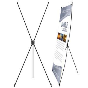 x展架60x160易拉宝展示架80x180广告婚庆海报架广告器材批发