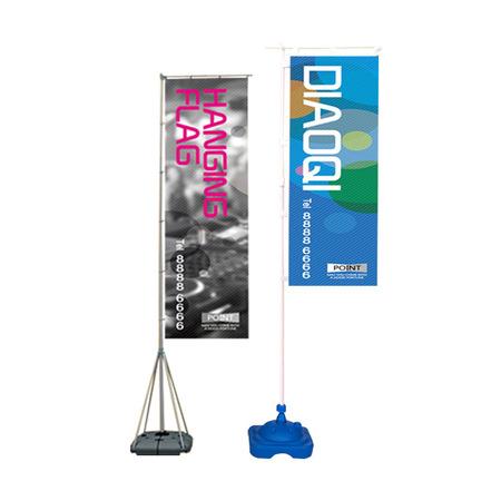 5米7米3米注水旗杆户外广告注水伸缩旗杆道旗