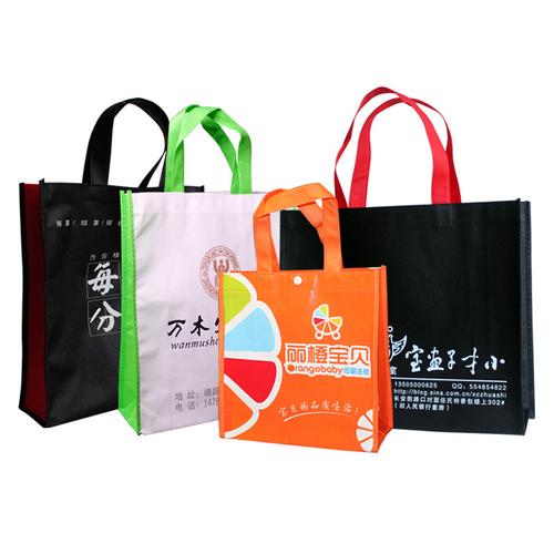 无纺布袋定做 手提环保袋定制 热合广告袋订做可印LOGO