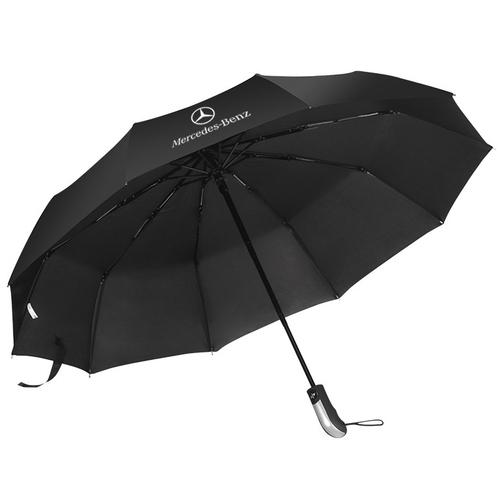 定制三折广告4S店保险商务遮阳晴雨伞定做印商标logo订做礼品伞