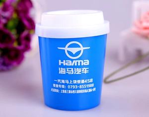 厂家单色丝印塑料调料盒 精美创意咖啡杯牙签盒定制